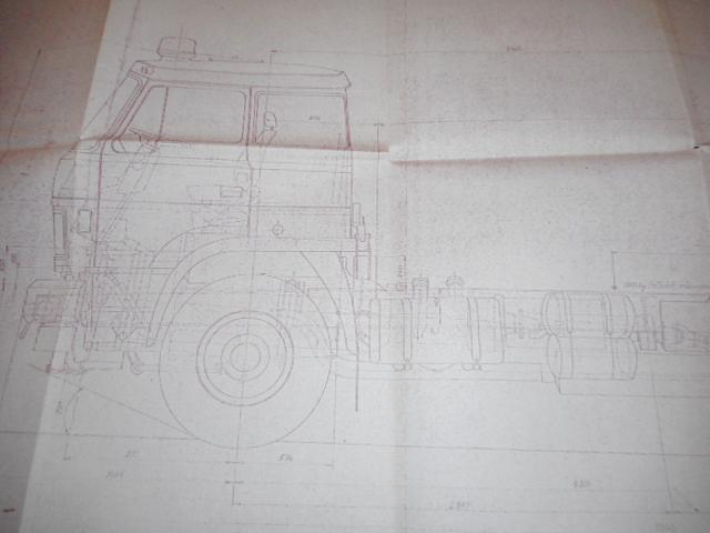 LIAZ 110.870 - specielní podvozek - výkres - 1988