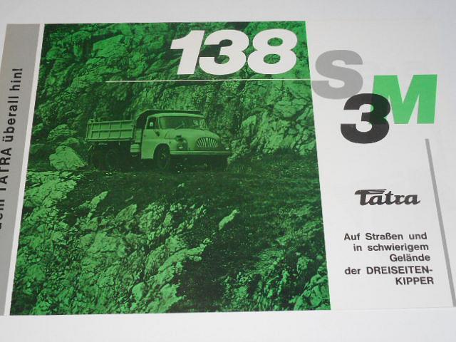 Tatra 138 S 3 M - prospekt - Motokov
