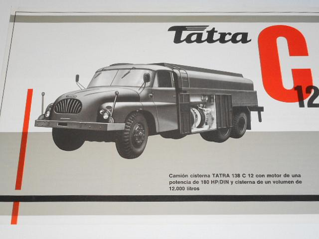 Tatra 138 c 12 - prospekt - Motokov