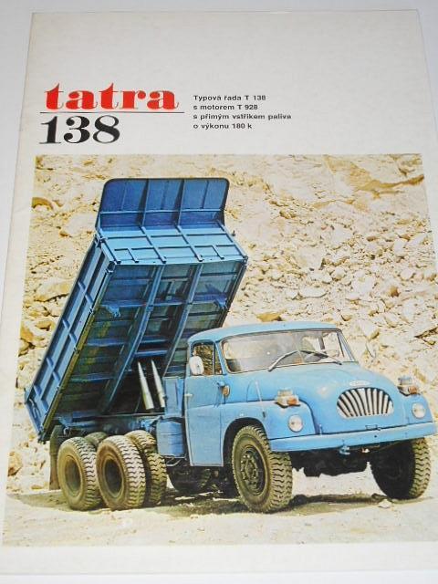 Tatra 138 - prospekt