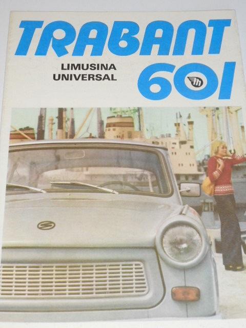 Trabant 601 - prospekt - Mototechna