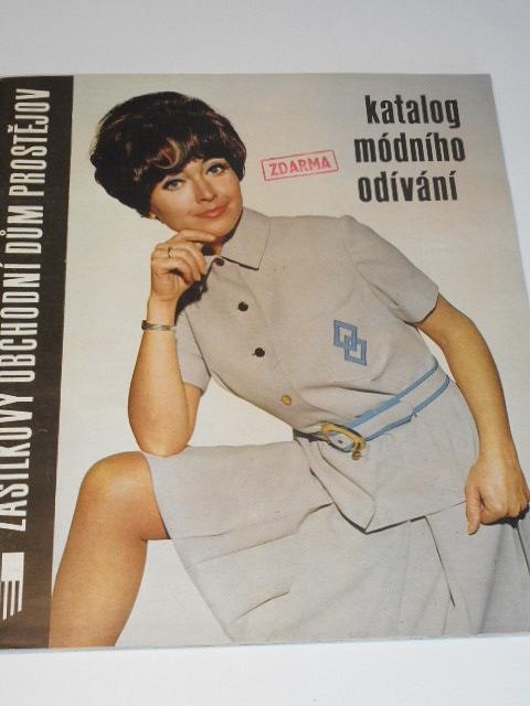 Katalog módního odívání 1969 - Zásilkový obchodní dům Prostějov