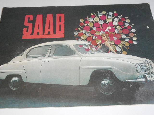 SAAB - prospekt - 1964