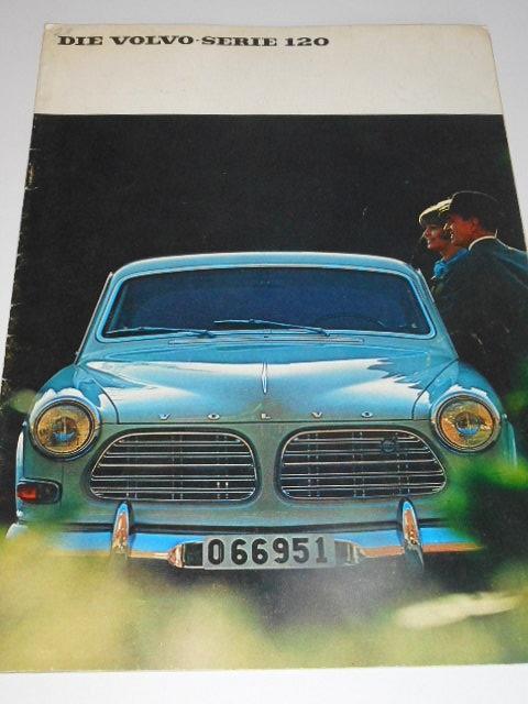 Volvo - Serie 120 - prospekt - 1967