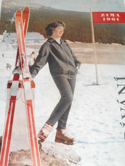 Odívání - zima 1961 - módní katalog