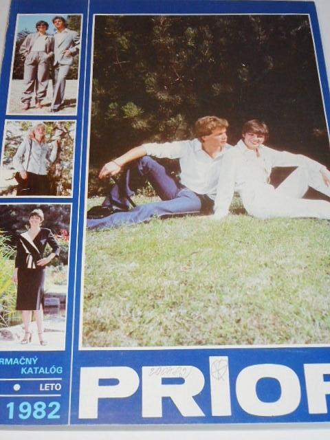 Prior - informačný katalóg jar-leto 1982