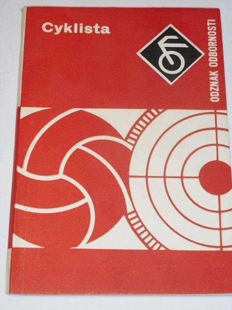 Cyklista - odznak odbornosti - PO SSM - 1977