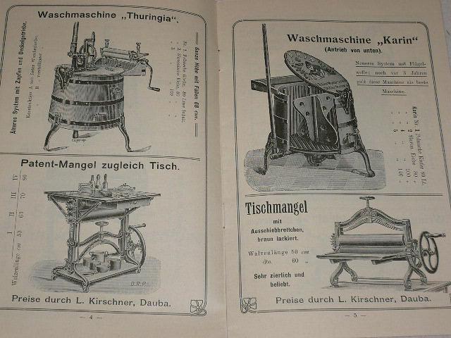 Schade´s - Schnell - Waschmaschine - prospekt