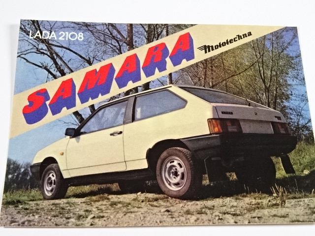 Lada 2108 Samara - samolepka - Mototechna