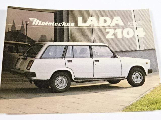 Lada kombi 2104 - samolepka - Mototechna
