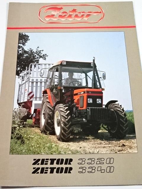 Zetor 3320, 3340 - prospekt