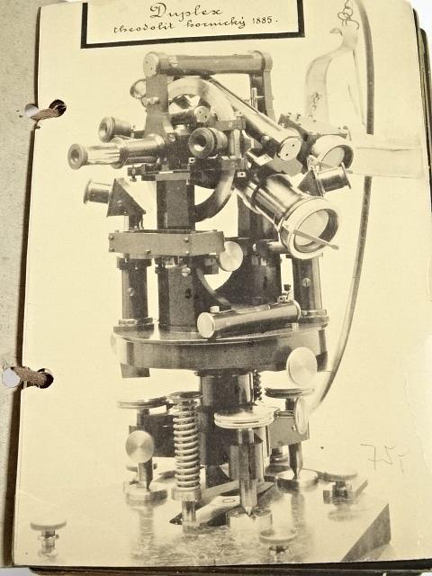 Theodolit, tachymetr, spektroskop, refraktometr, polarimetr, saccharimetr - fotografie