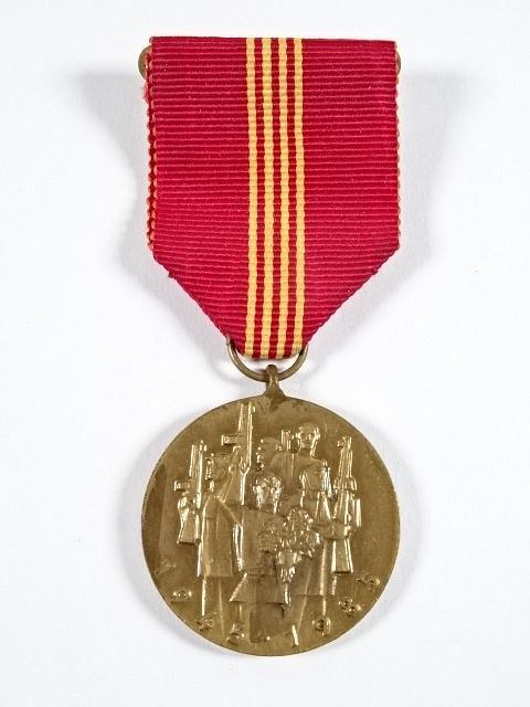 Čtyřicáté výročí osvobození Československa Sovětskou armádou - 1945 - 1985 - medaile