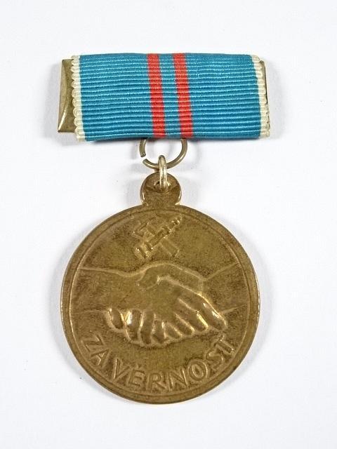 Za věrnost - hasičská medaile