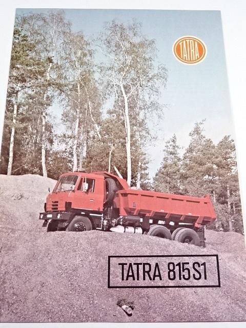 Tatra 815 S1 26 208 6x6.2 - prospekt