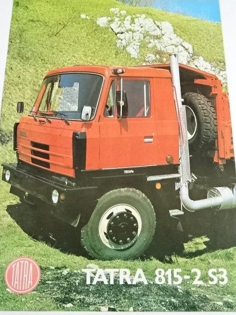 Tatra 815–2 S3 28 210 6 x 6.2 - prospekt