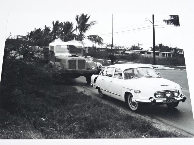 Tatra 603 + Tatra 111 - Kuba - fotografie