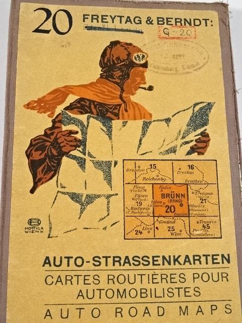 Auto - Strassenkarten - Freytag a Berndt - Brünn - Brno - mapa