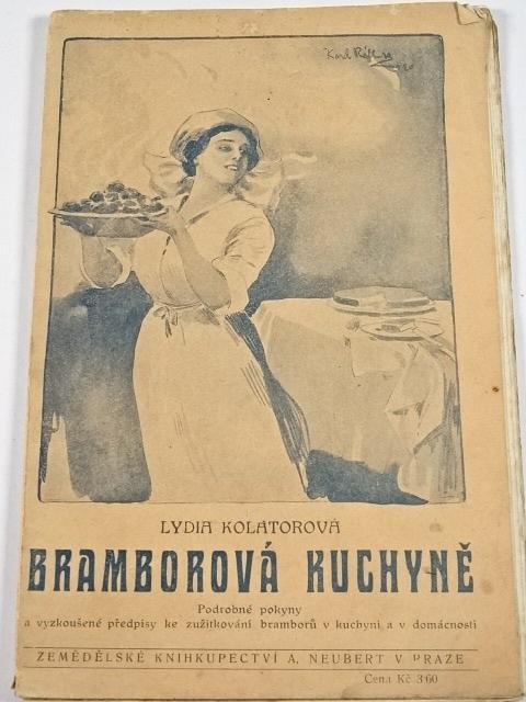Bramborová kuchyně - Lydia Kolátorová - 1921