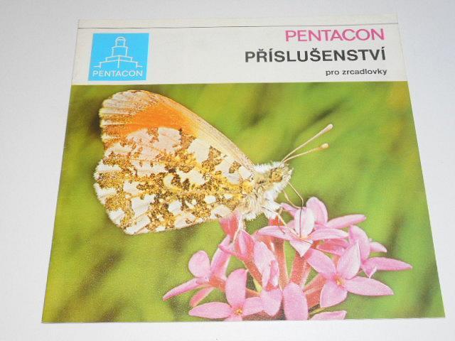 Pentacon - příslušenství pro zrcadlovky - 1974 - prospekt