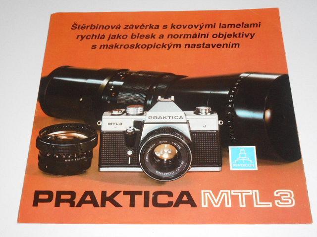 Pentacon - Praktica MTL 3 - 1981 - prospekt