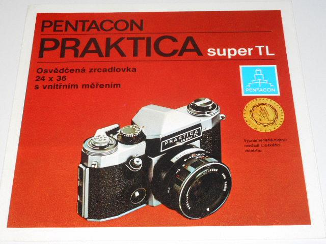 Pentacon - Praktica super TL - 1974 - prospekt