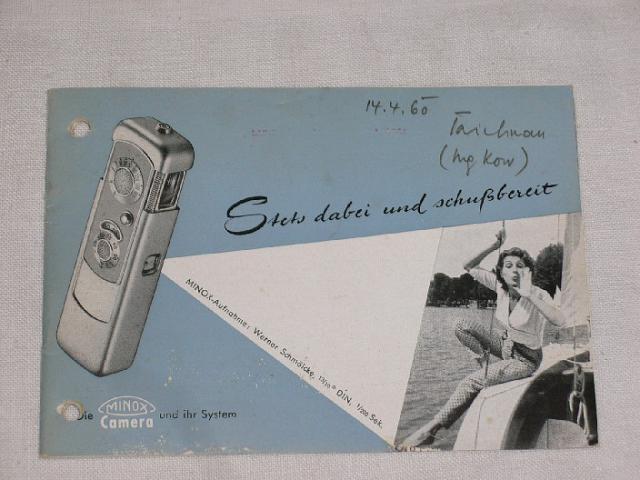 Minox - 1957 - prospekt
