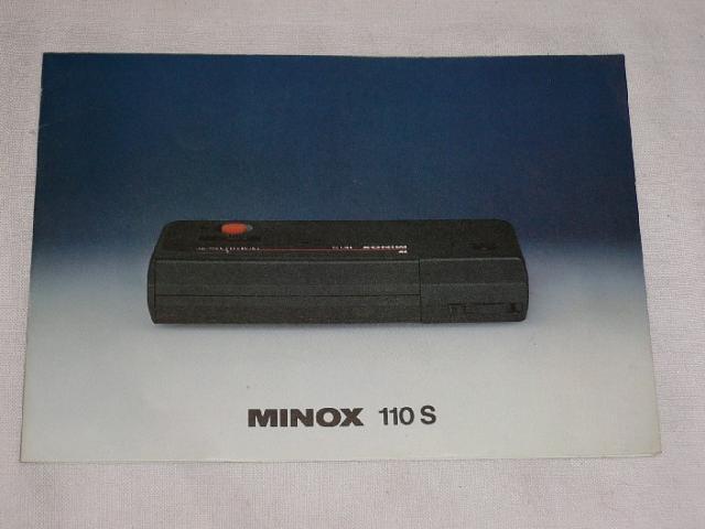 Minox 110 S - 1977 - prospekt