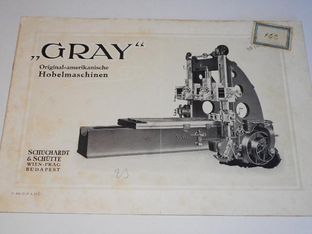 GRAY - Original amerikanische Hobelmaschinen - prospekt