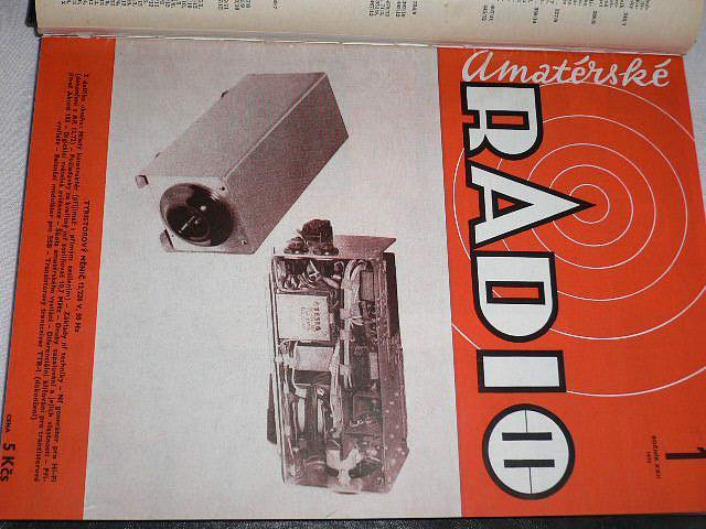 Amatérské radio - časopisy - 1973