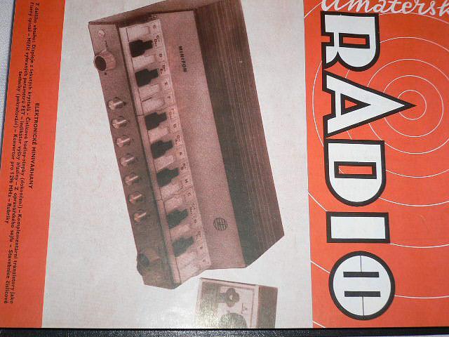Amatérské radio - časopisy - 1975