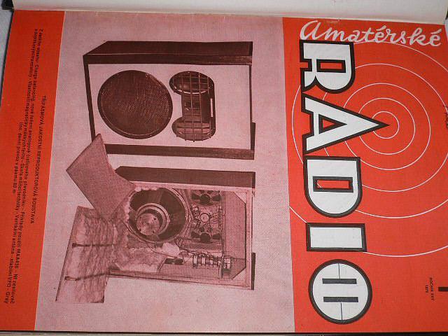 Amatérské radio - časopisy - 1976