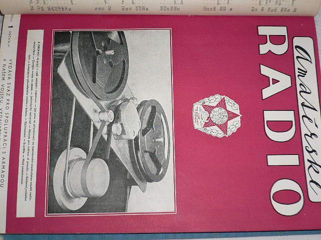 Amatérské radio - časopisy - 1955
