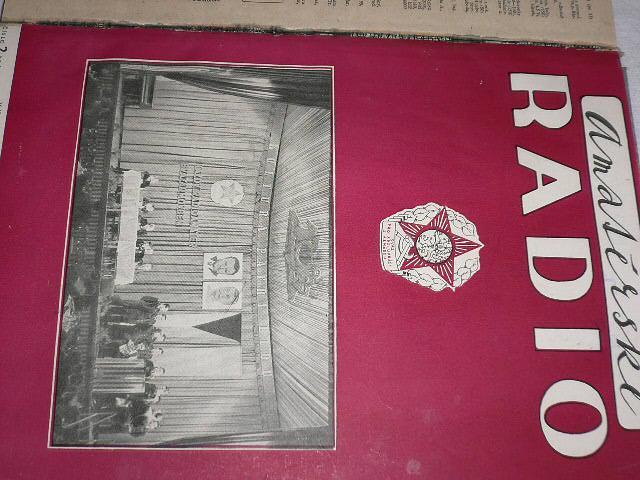 Amatérské radio - časopisy - 1953