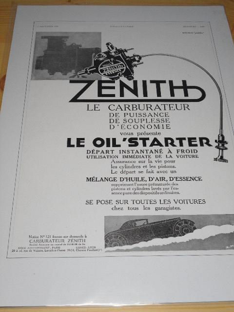 Zenith - reklama ze starého časopisu - 1931
