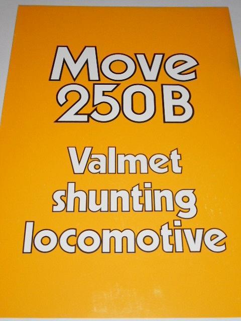 Valmet - Move 250 B - 1985 - prospekt