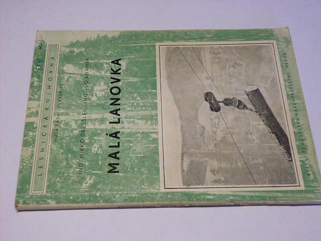 Malá lanovka - Dressler, Adámek - 1956