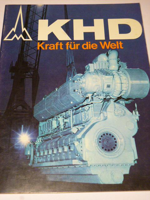 KHD - Deutz - Kraft für die Welt - prospekt - 1975