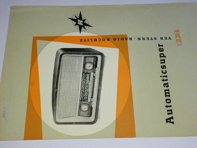 Automaticsuper - Automatic Superhet - 1960 - prospekt
