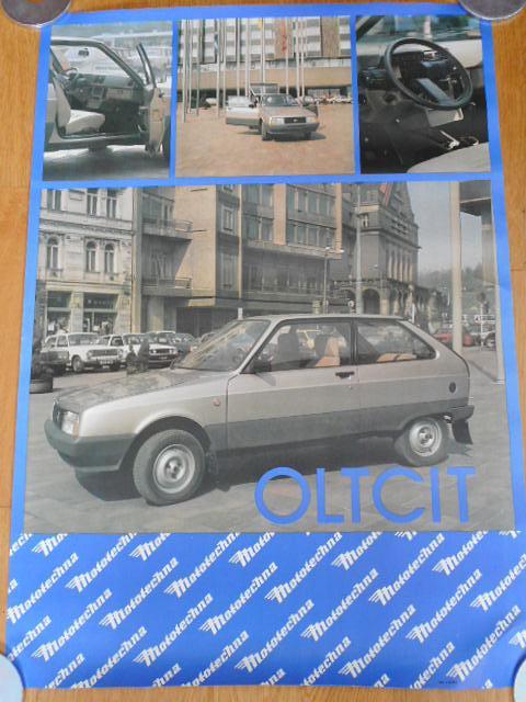 Oltcit Club 11 R - Mototechna - plakát