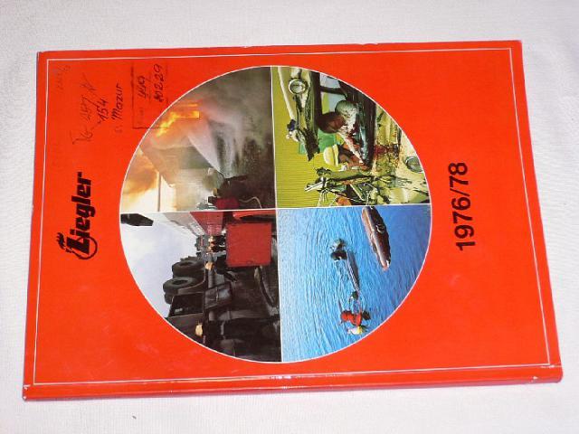 Ziegler - Katalog 1976/78 - automobily, střílačky, uniformy