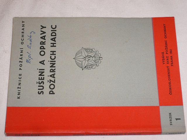 Sušení a opravy požárních hadic - Svoboda - 1961