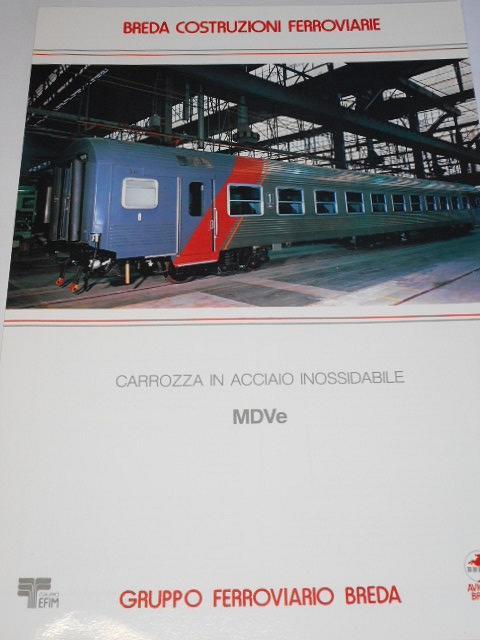 Breda - carrozza in acciaio inossidabile MDVe - prospekt