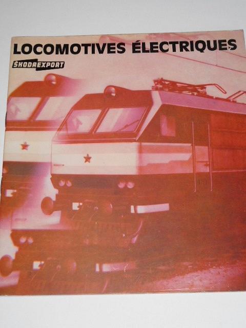 Škoda Plzeň - Locomotives électriques - prospekt