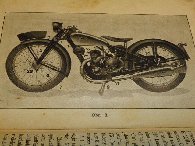 JAWA 175 - příručka pro jezdce na motocyklu