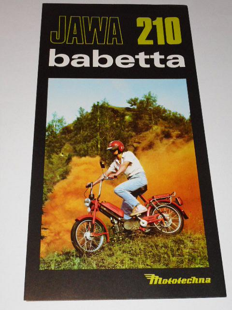 JAWA 210 Babetta - Mototechna - prospekt