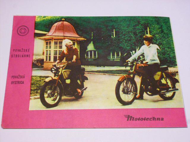 JAWA 50/20, 21, 23, Jawa 90 - cross, roadster, Babetta - prospekt