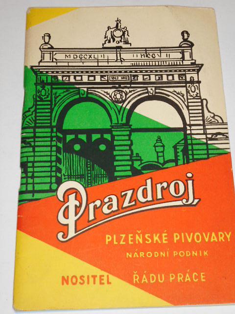Plzeňský Prazdroj - vyprávění o slávě plzeňského piva - 1961