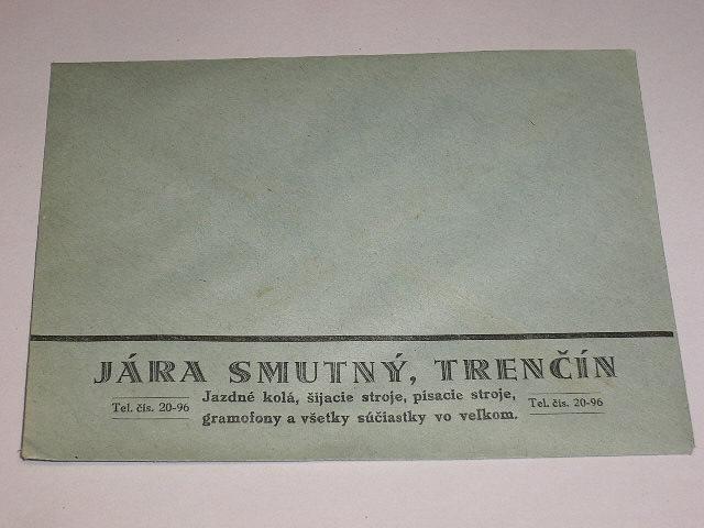Jára Smutný, Trenčín - firemní obálka