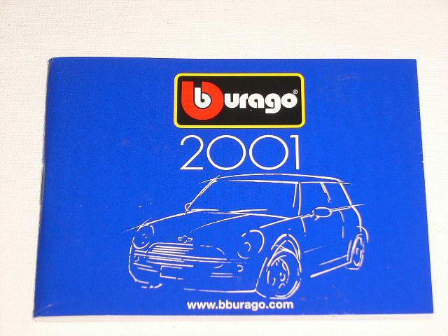 Burago - 2001 - prospekt